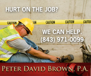 Hurt on the job? We can help. (843) 971-0099